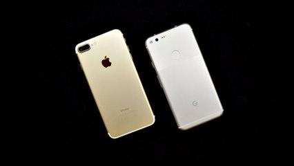 Google Pixel XL vs Apple iPhone 7 Plus - Speedtest und Multitasking