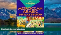 Books to Read  Lonely Planet Moroccan Arabic Phrasebook (Lonely Planet Phrasebook: Moroccan