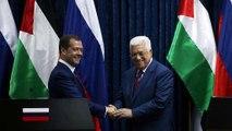 Dmitri Medvedev visita Israel e Palestina