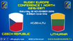 CZECH REPUBLIC / LITHUANIA - RUGBY EUROPE CONFERENCE 1 NORTH 2016/2017 - 12/11/2016