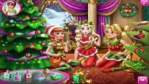 Disney Princess Christmas Party Game - Frozen Elsa Anna & Tangled Rapunzel Baby games