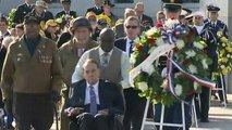 Obamas commemorate Veterans Day in Washington