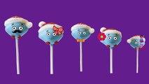 Finger Family Rhymes Cake Pops Cartoon | Lollipop Cake Pops Finger Family