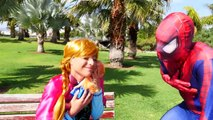 Spiderman, Frozen Elsa & Anna! Dog and Baby Kidnapped! Fun Superheroes in Real Life :)