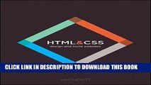 Ebook HTML and CSS: Design and Build Websites Free Download