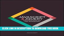 Ebook JavaScript and JQuery: Interactive Front-End Web Development Free Download