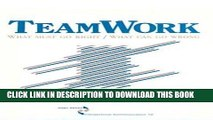 [PDF] FREE Teamwork: What Must Go Right/What Can Go Wrong (SAGE Series in Interpersonal