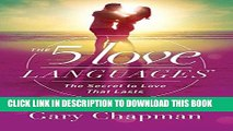 Best Seller The 5 Love Languages: The Secret to Love that Lasts Free Read