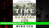 Buy book  Time of the Rangers: Texas Rangers: From 1900 to the Present