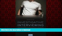 liberty book  Investigative Interviewing: The Conversation Management Approach online