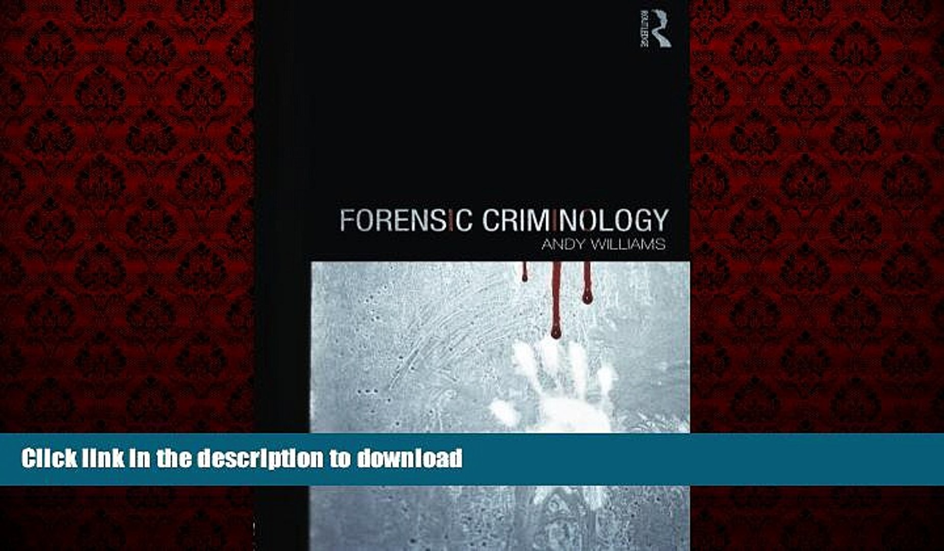 Liberty Book Forensic Criminology Video Dailymotion