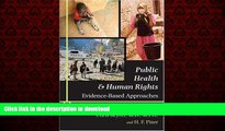 liberty books  Public Health and Human Rights: Evidence-Based Approaches (Director s Circle Book)