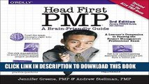 Ebook Head First PMP: A Learner s Companion to Passing the Project Management Professional Exam