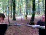 patator tir sur un arbre (valentin tu c pas filmé -_-)