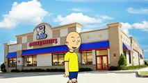 Caillou goes to Chuck E Cheeses and gets grounded