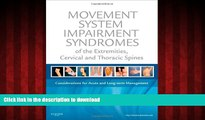 Buy book  Movement System Impairment Syndromes of the Extremities, Cervical and Thoracic Spines,