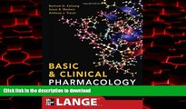 Best books  Basic and Clinical Pharmacology 12/E (LANGE Basic Science)