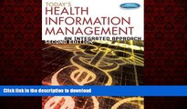 liberty books  Today s Health Information Management: An Integrated Approach online