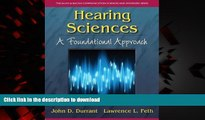 Best book  Hearing Sciences: A Foundational Approach (The Allyn   Bacon Communication Sciences and