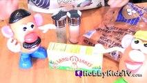 HobbyFood: Perfect Baked Potato! Mr. + Mrs Potato Heads Get Tator Tot Babies by HobbyKidsTV