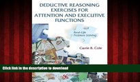 Read books  Deductive Reasoning Exercises for Attention and Executive Functions: Real-Life Problem