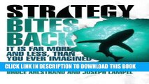 [PDF] Epub Strategy Bites Back: It Is Far More, and Less, than You Ever Imagined (paperback) Full