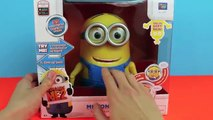 Minion Dave Talking Action Figure Despicable Me 2 Minions Dancing and Singing Banana Song