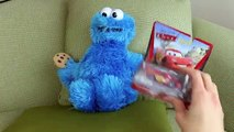 Cookie Monster Disney Mickey Mouse Video Jumping DisneyCarToys and TheEngineeringFamily