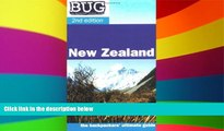 Must Have  BUG New Zealand: The backpackers ultimate guide (Backpackers  Ultimate Guidebook: New