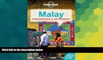 Ebook Best Deals  Lonely Planet Malay Phrasebook   Dictionary  Most Wanted