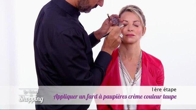 Les conseils de Cristina Cordula pour maquiller des yeux bombés