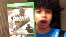 Call Of Duty Infinite Warfare & Call of Duty Modern Warfare Remastered on Release date OMG !!!!