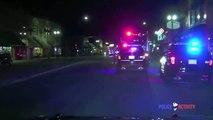 Une femme sous meth arrêtée à l'arrière d'une voiture de police réussit à s'échapper… en volant la voiture