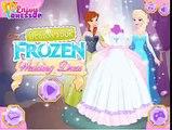 Frozen Disney Princess Elsa and Anna Design Wedding Dress Best Girls Games