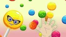 Sweet Candy Lollipop Finger Family | Lollipop Daddy Finger