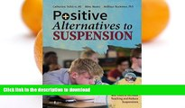 READ  Positive Alternatives to Suspension: Procedures, Vignettes, Checklists and Tools to