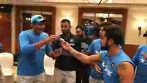 Virat Kohli celebrated his birthday with his Teammates
