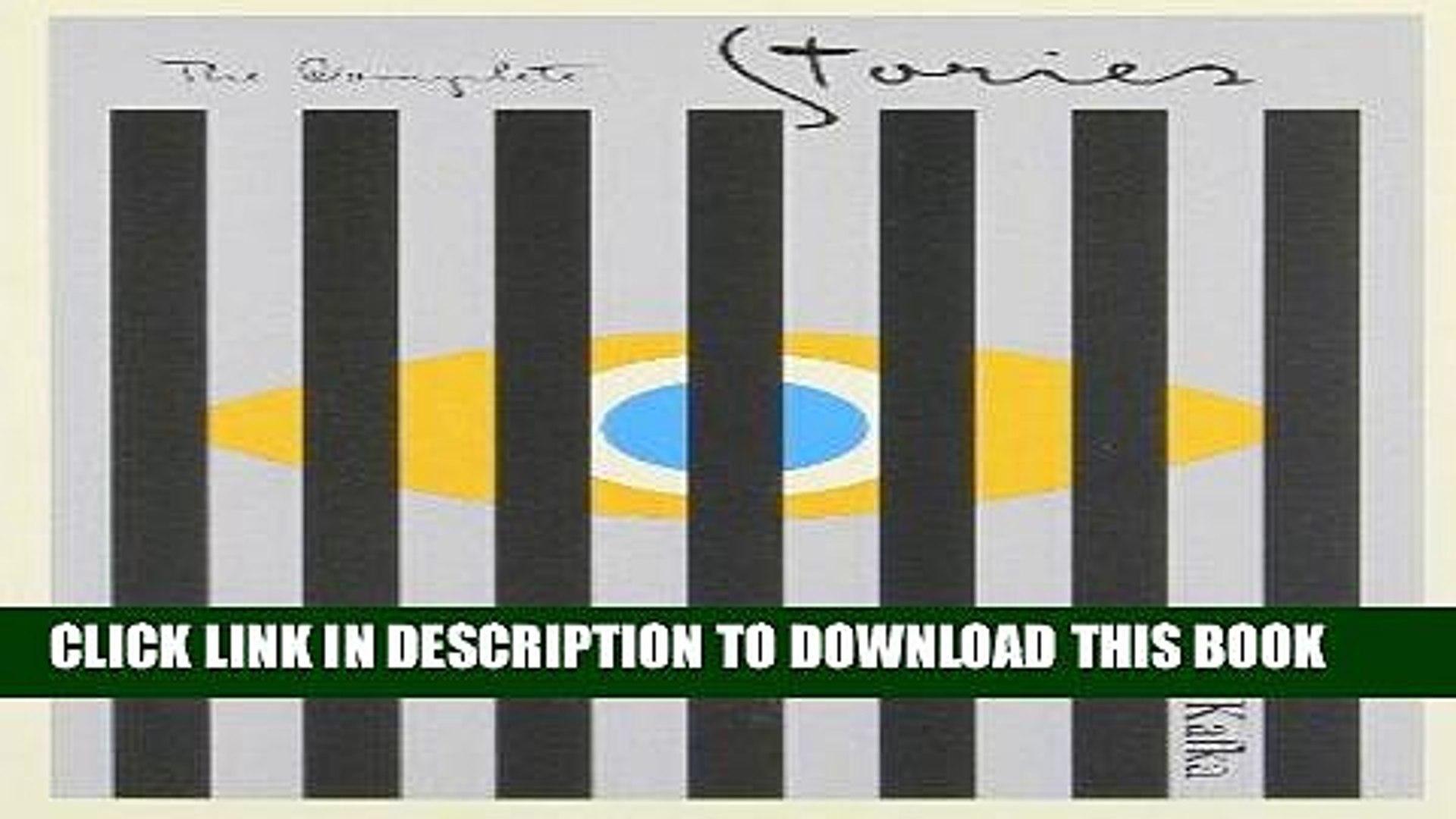[PDF] FREE Franz Kafka: The Complete Stories [Download] Full Ebook[PDF] FREE Franz Kafka: The
