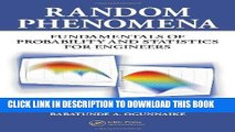 PDF Download Random Phenomena Fundamentals of Probability and