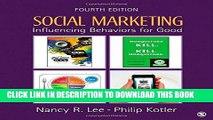 [PDF] Social Marketing: Influencing Behaviors for Good Full Online