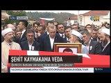 Şehit Derik Kaymakamı Fatih Safitürk'ün Babasının Cenaze namazı konuşması