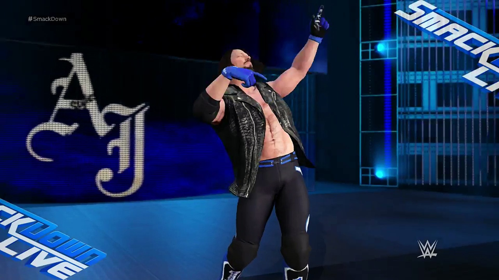 WWE 2K17 - Smackdown Live 2016 Intro (PS4)