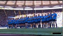 Rugby 2016 Test Match Italy vs. New Zeland - National Anthems + Haka