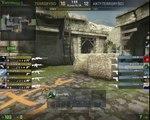 CS GO - de_aztec deagle lucky shot