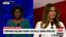 Melania Trump copie intégralement un discours de Michelle Obama