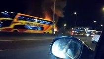 Autobús explota en la ruta Panamericana de Buenos Aires (11.11.2016)