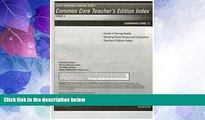 Deals in Books  Scott Foresman Reading Street Common Core Teacher s Edition Index, Grade 4  READ
