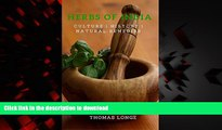 Buy book  Herbs of India: Indian Herbal Culture, History, and Natural Remedies