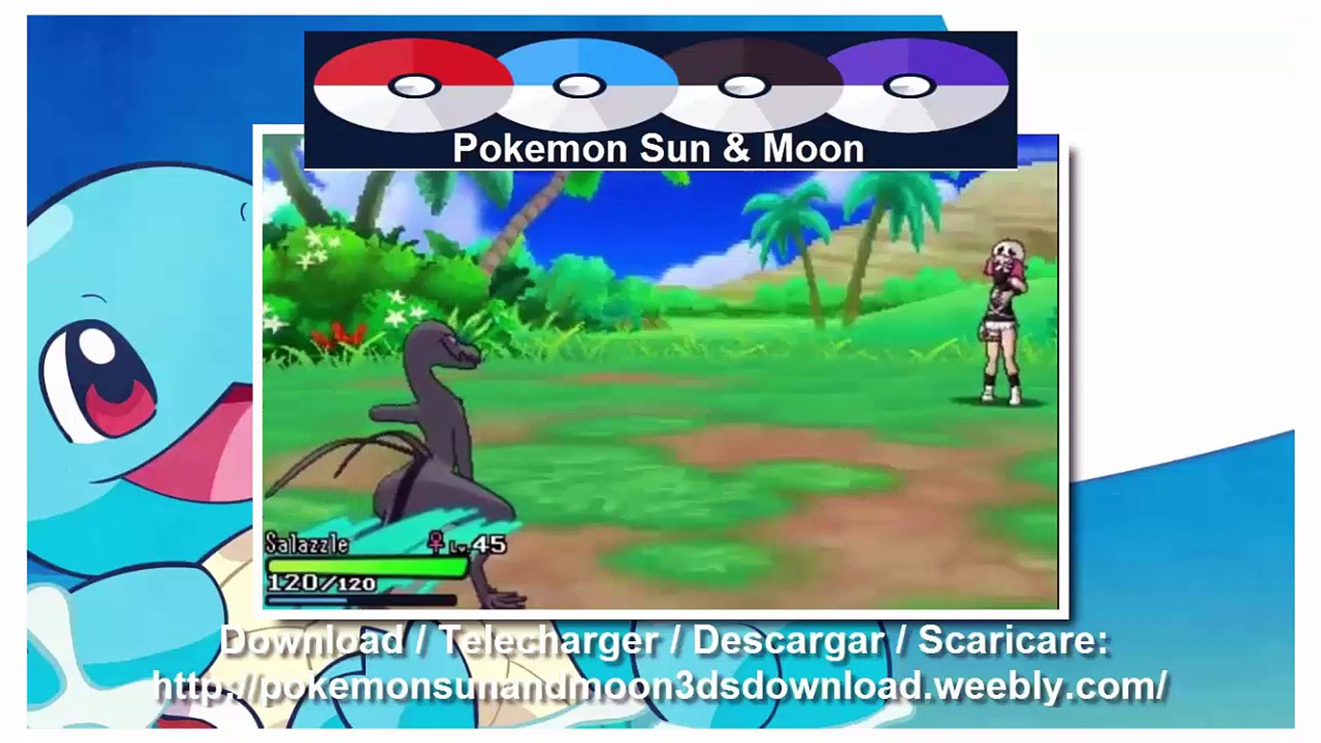 Pokemon Sun and Moon Download link (Emulator PC + 3DS ROMS)