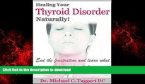 liberty books  HEALING YOUR THYROID NATURALLY: End the frustration and learn what your doctor